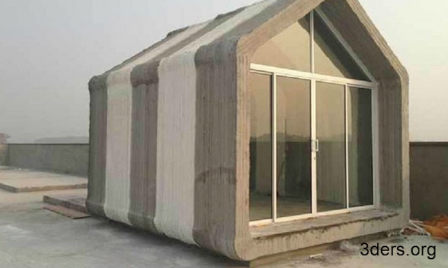 "Affordable houses being ""printed"" with cement"