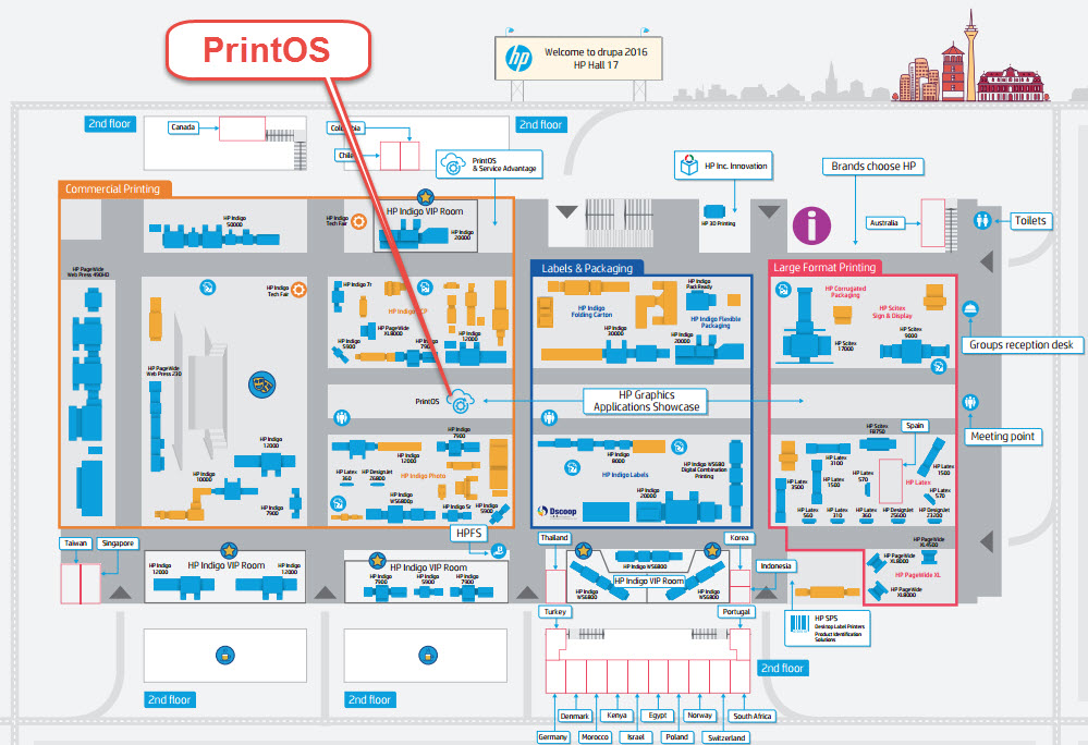 PrintOS is at the heart of HP's digital print strategy.