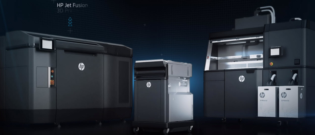HP Jet Fusion 3D printer - how it works