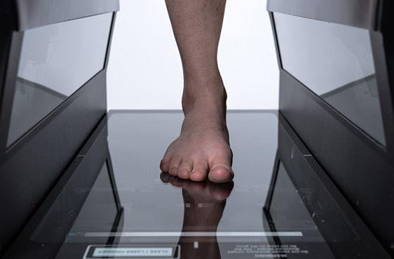 Do you have super feet? Scan them at Superfeet using FitStation powered by HP.