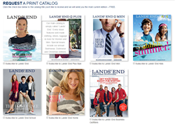 Lands' End now prints specialty catalogs