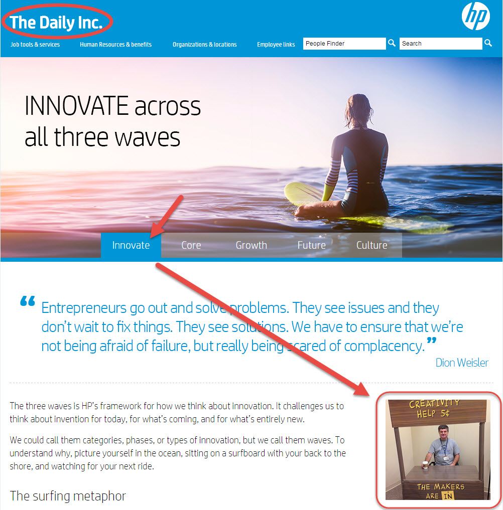 """Corvallis Maker Space featured on Daily Inc. """"INNOVATE"""" page"""