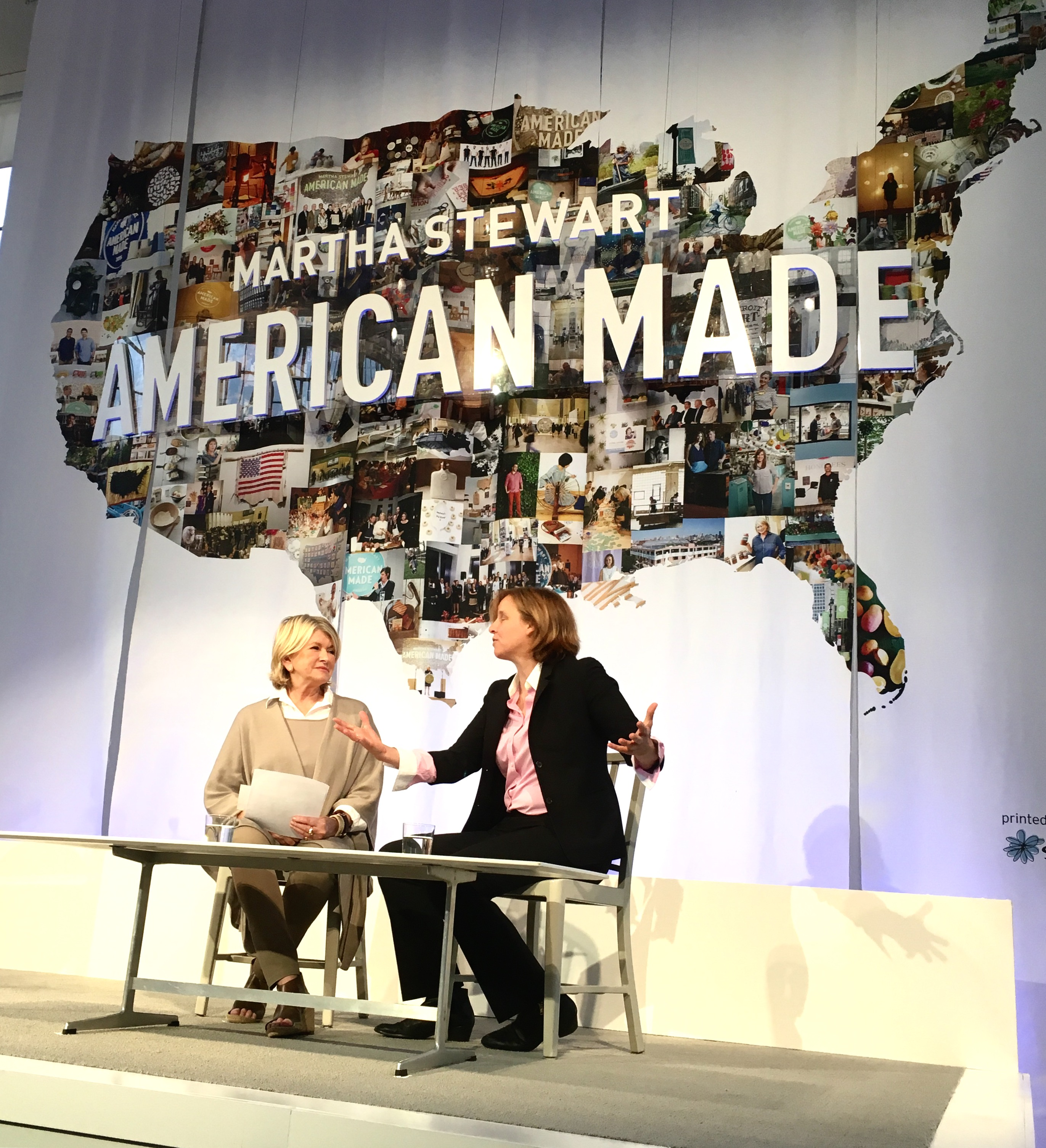 America's CTO Megan Smith delivered the closing keynote at the Martha Steward American Made summit.