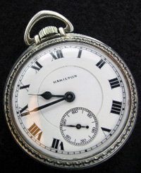 The pocket watch synchronized it wearer to the world.