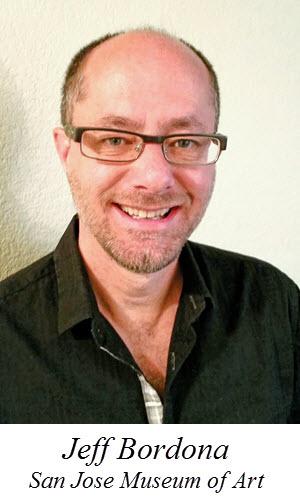 Jeff Bordona, Dir. of Education at the San Jose Museum of Art