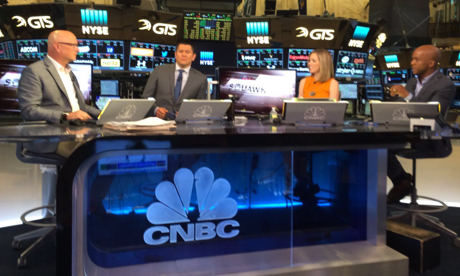 CTO Shane Wall announces HP Tech Ventures on CNBC.