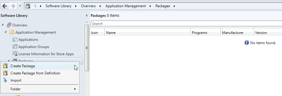 Create HP IA Package