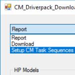 Scripting the Download and use of HP DriverPacks in MEMCM