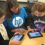 """Hour of Code fuels """"Growth Mindset"""" for Mrs. Hicks' 2nd graders"""